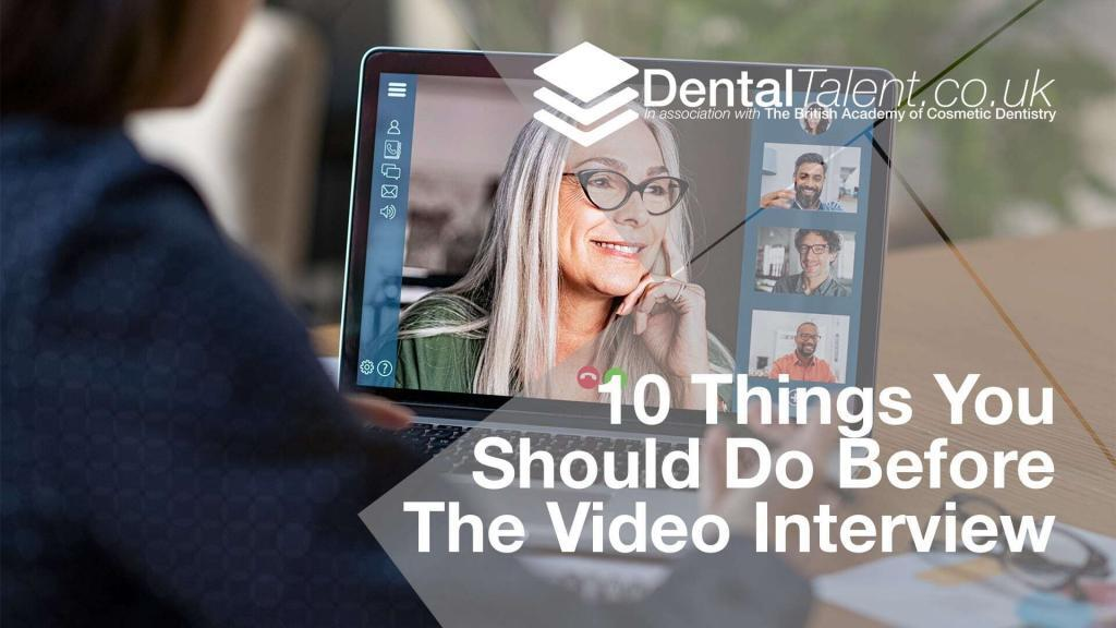 10 Things You Should Do Before The Video Interview