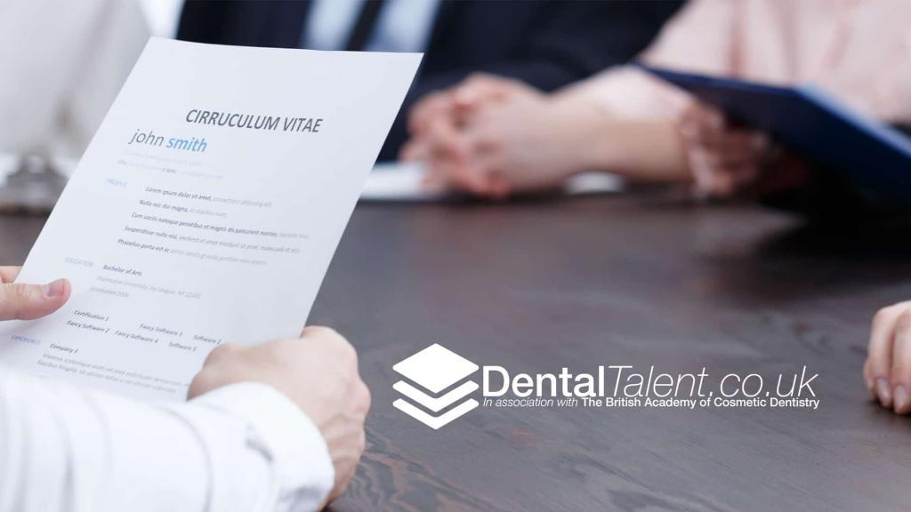 Dental Talent - Things to Know When Creating a CV for a Dental Position You Want
